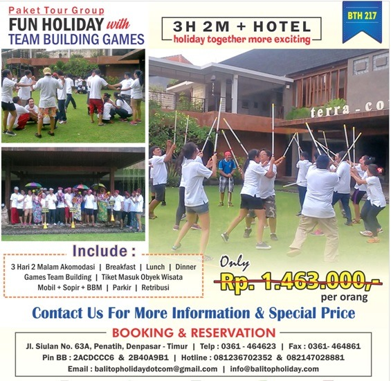 paket tour dan team building