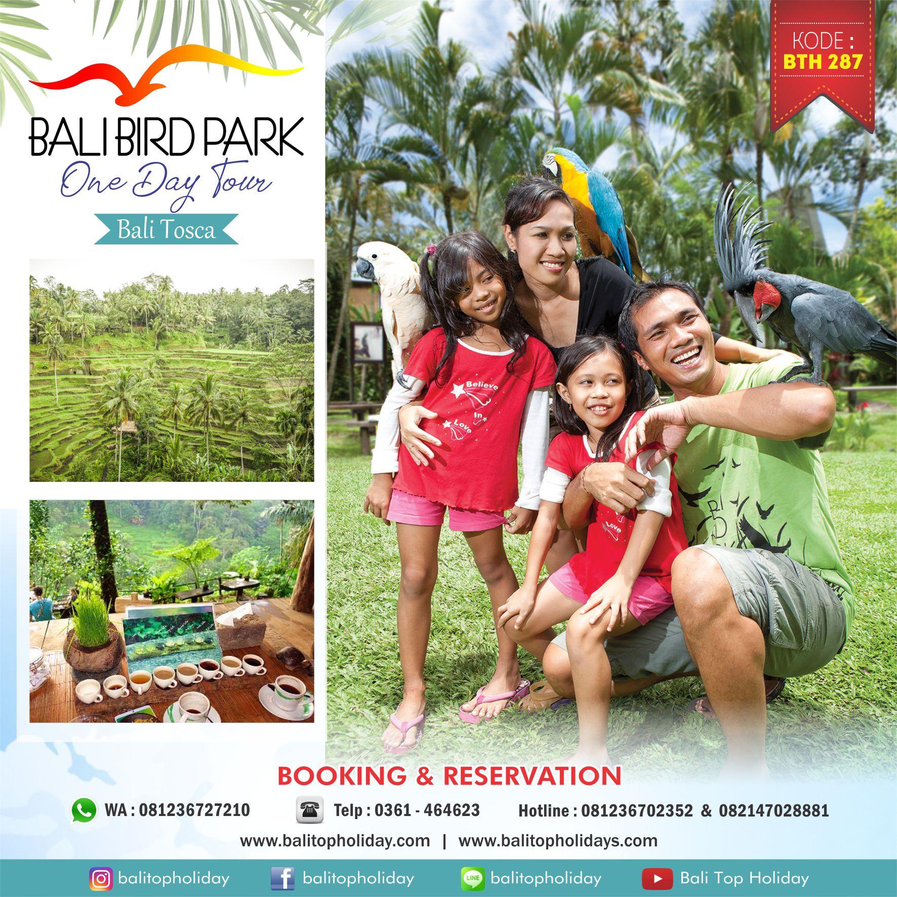 Paket tour bali bird park 1 hari