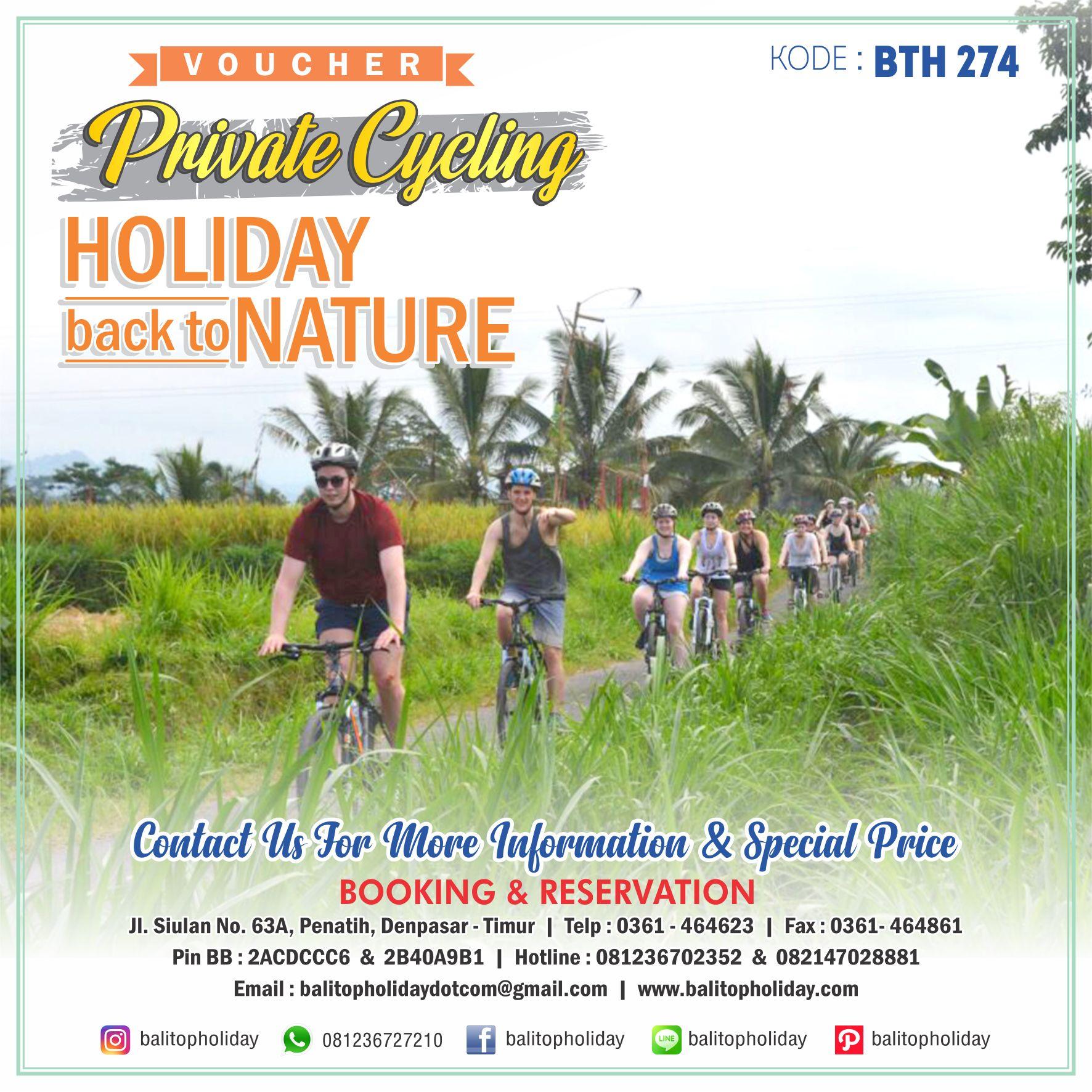 Ubud cycling