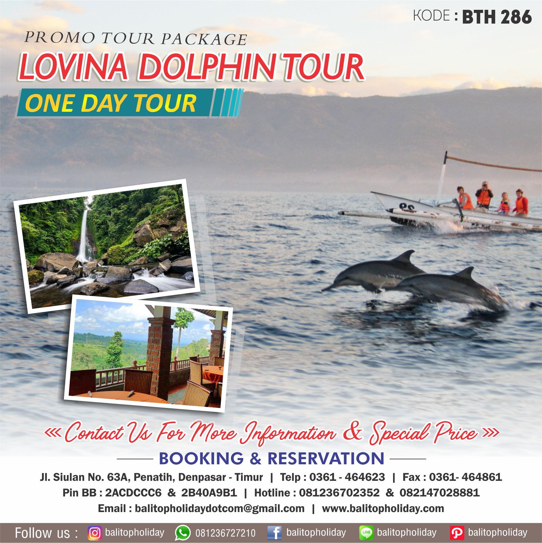 Lovina Dolphin Tour BTH 286