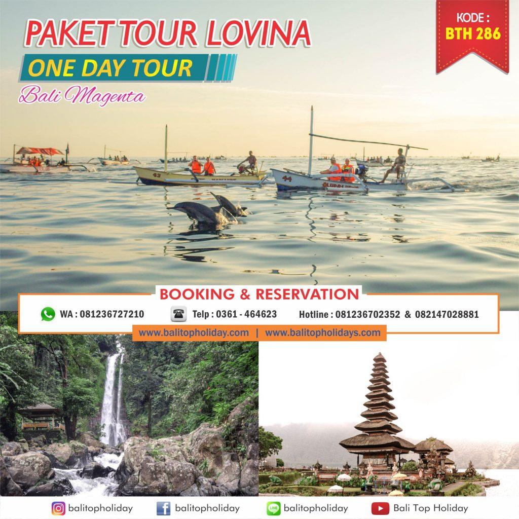 Paket tour LOvina
