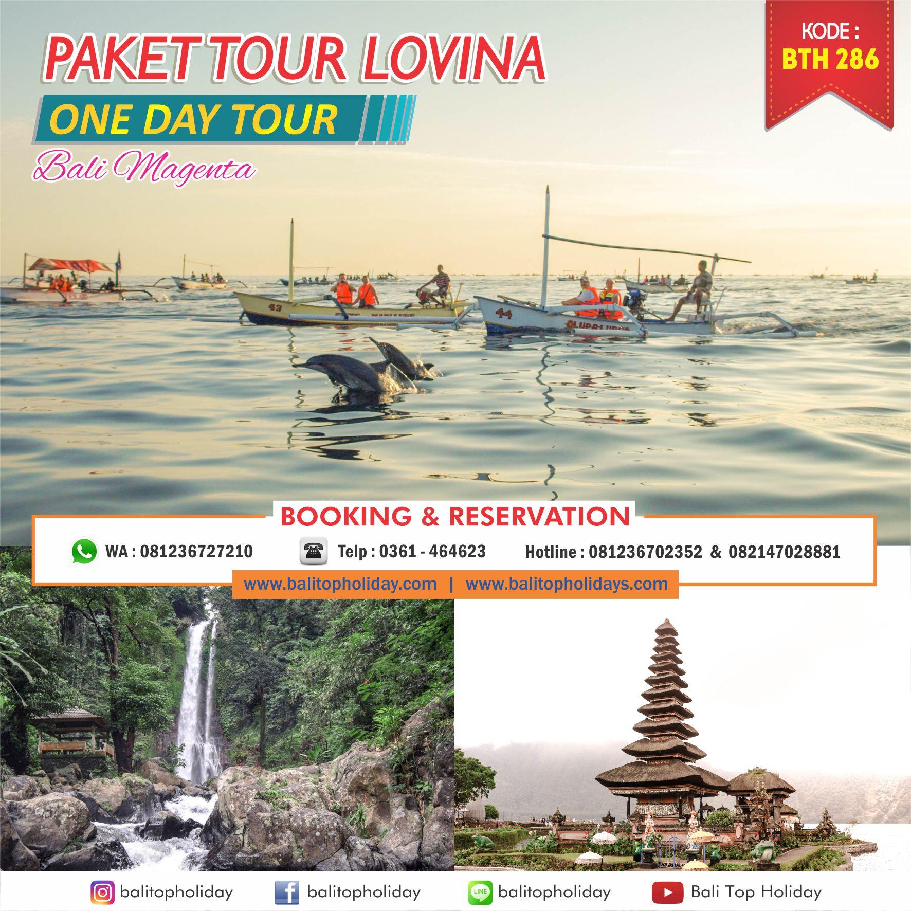 Paket Tour Lovina 1 Hari