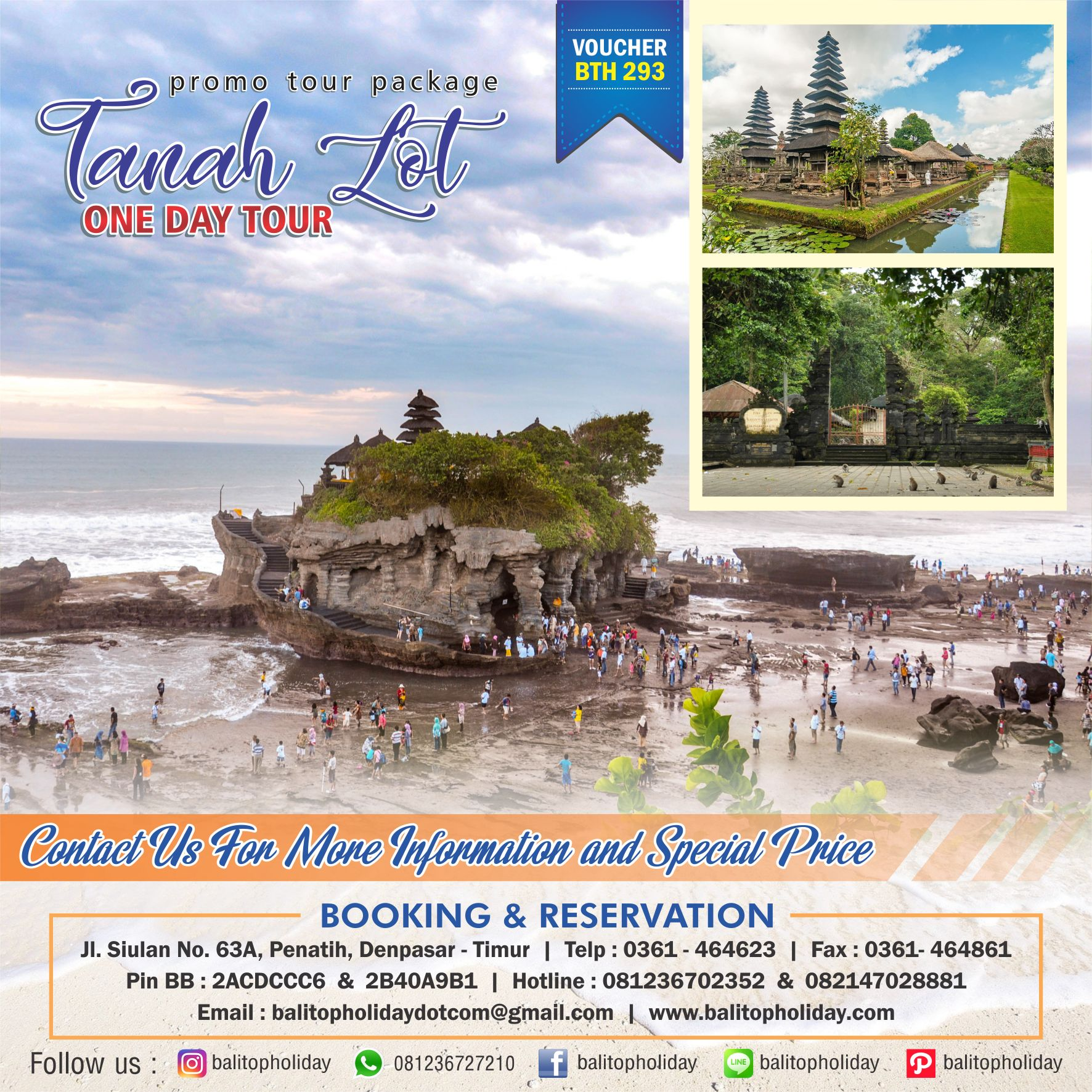 Tanah Lot One Day Tour BTH 293