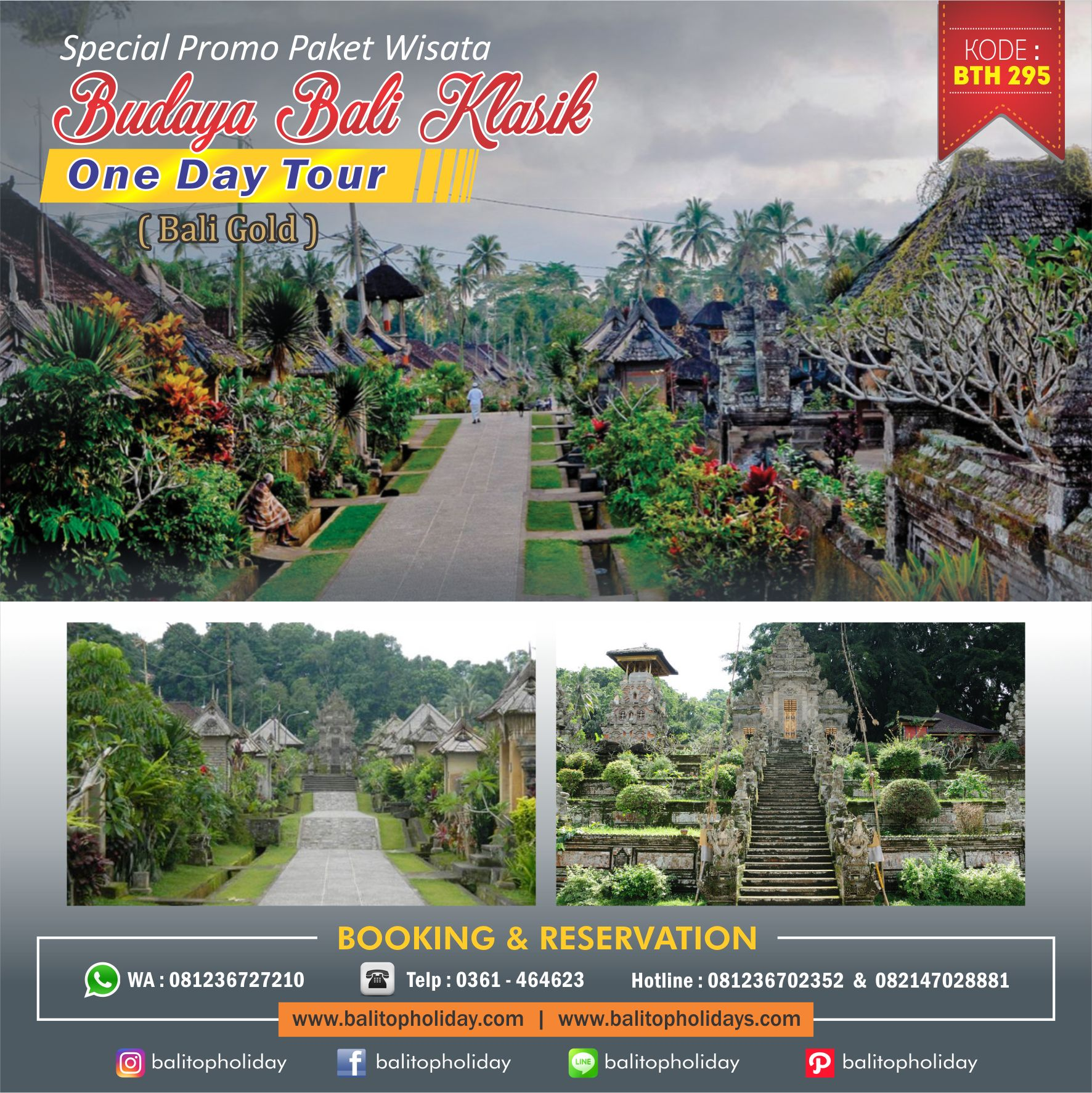 Wisata Bali Klasik