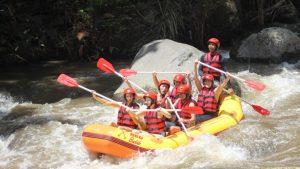 rafting ayung river