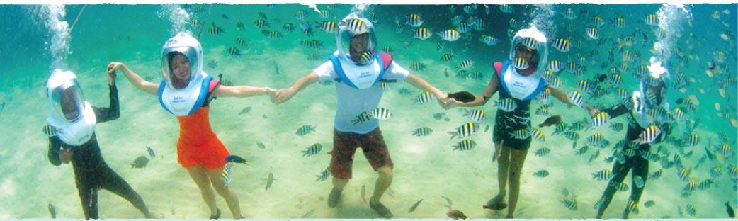 Seawalker Nusa Lembongan