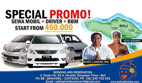 Sewa Mobil dan Supir di Bali