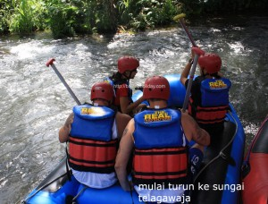 Rafting Telagawaja Karangasem Bali 1