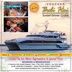 Sunset Dinner Cruise Bali Hai Cruise