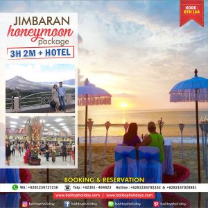Paket Bulan Madu Bali – Jimbaran