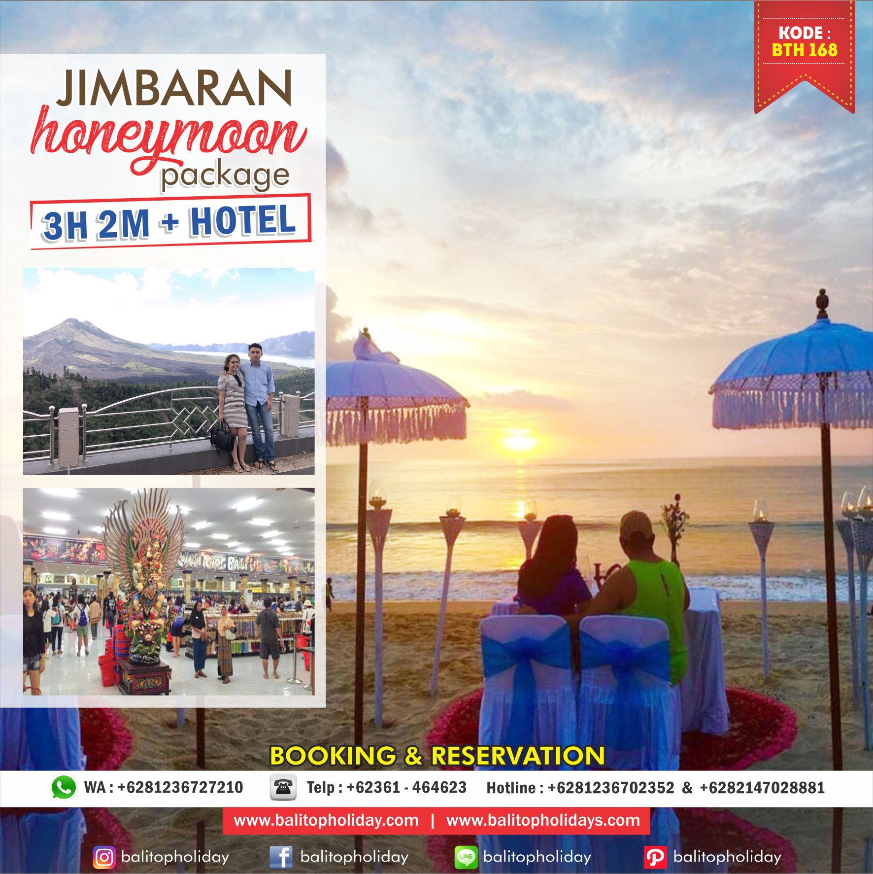 promo honeymoon jimbaran BTH