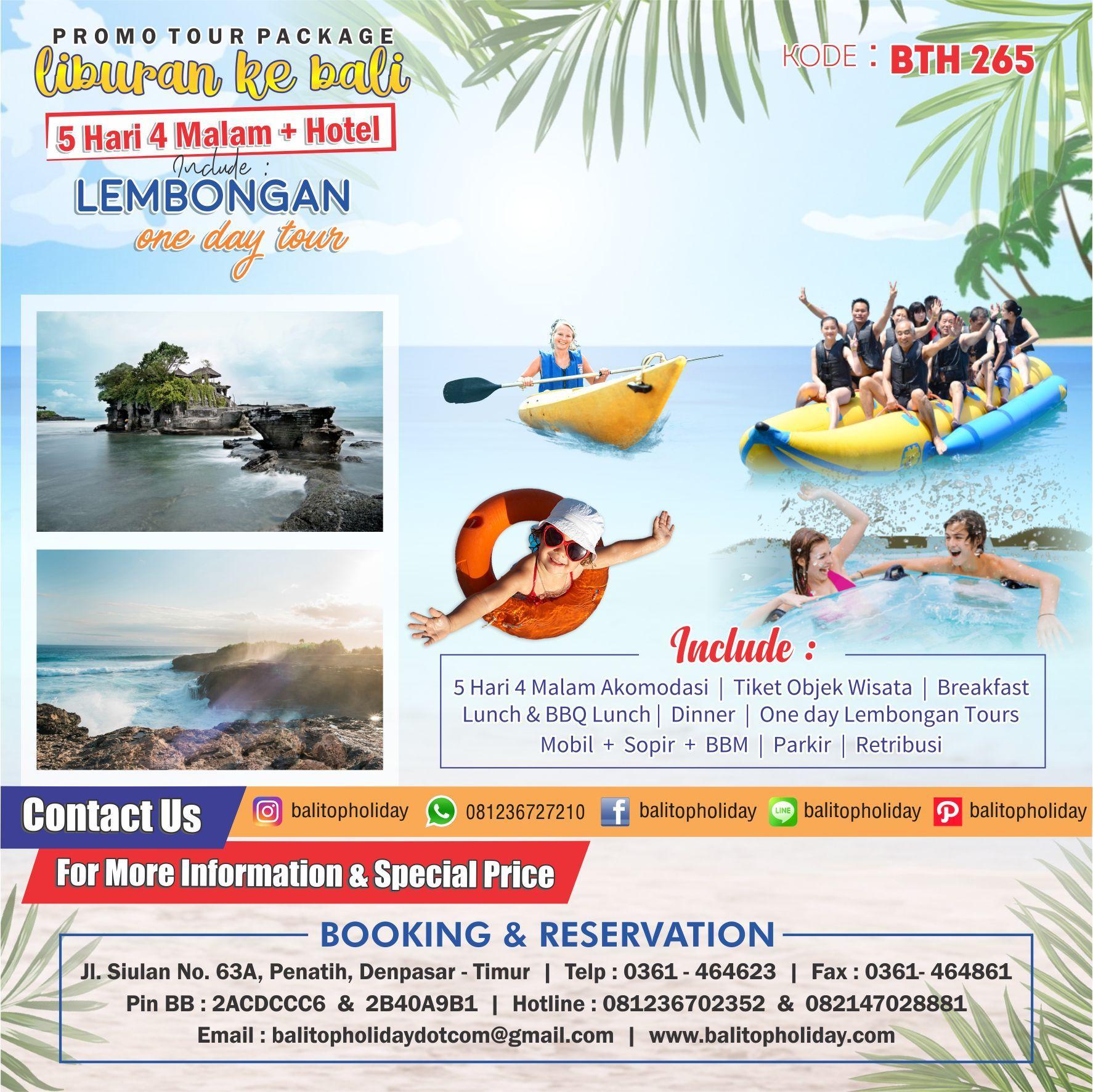 Paket-Tour Bali-5-Hari-4-Malam murah