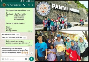 Paket Tour Keluarga di Bali 4 hari 3 malam