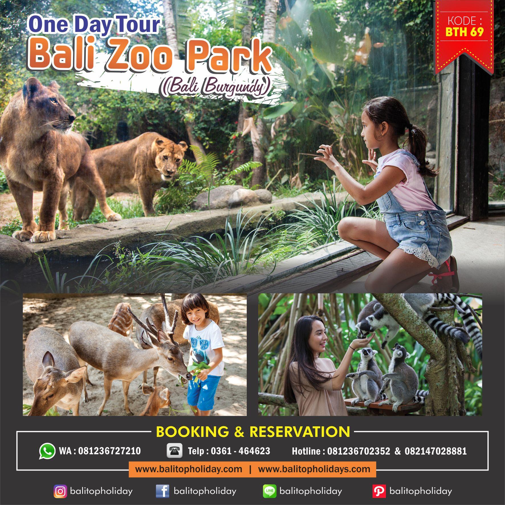 Tour Bali Zoo