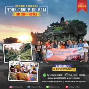 Paket Tour Group di Bali 3 hari  2 malam