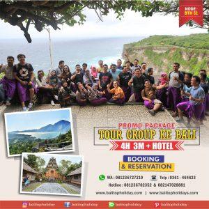 Paket Tour Group di Bali 4 Hari 3 Malam