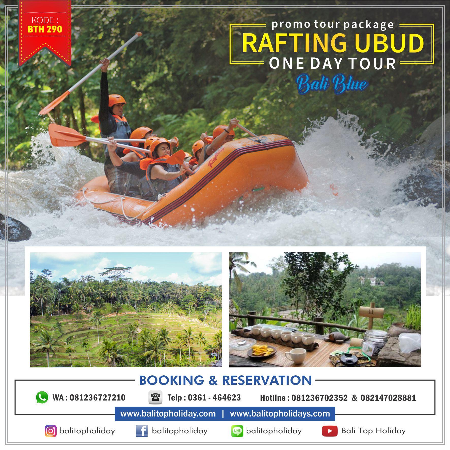Paket tour Rafting ubud