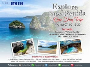 Paket Tour Nusa Penida – West Island Tour