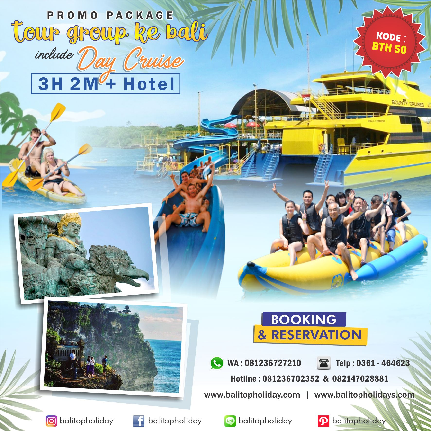 Paket Group 3H 2M + Cruise