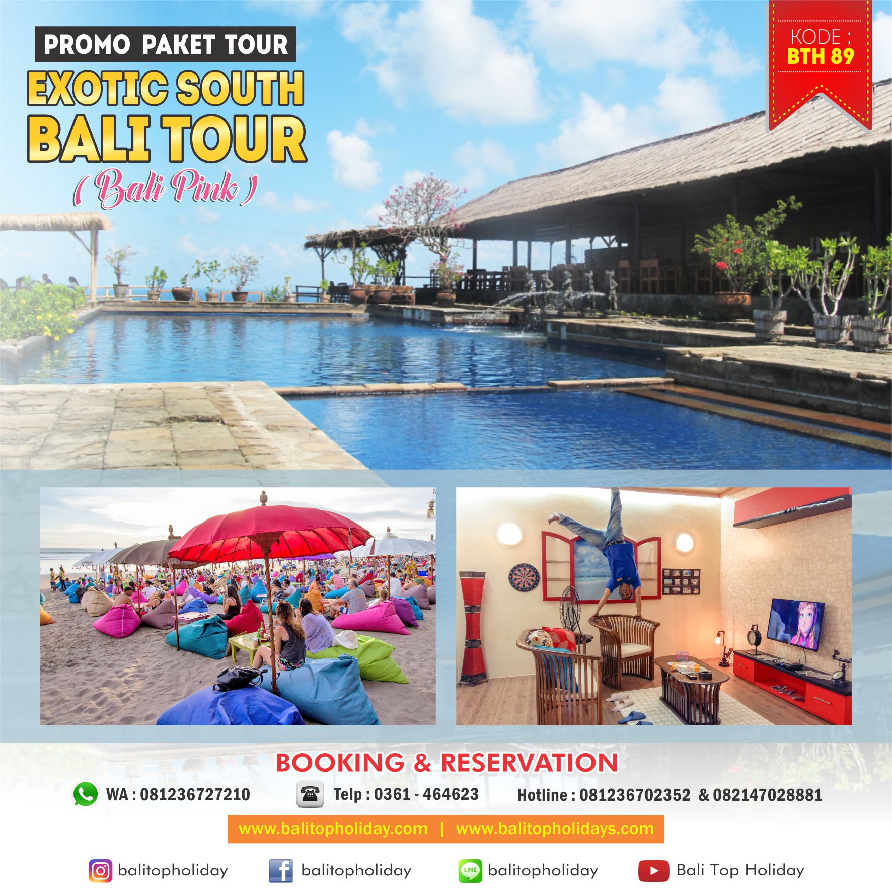 Exotic South Bali Tour