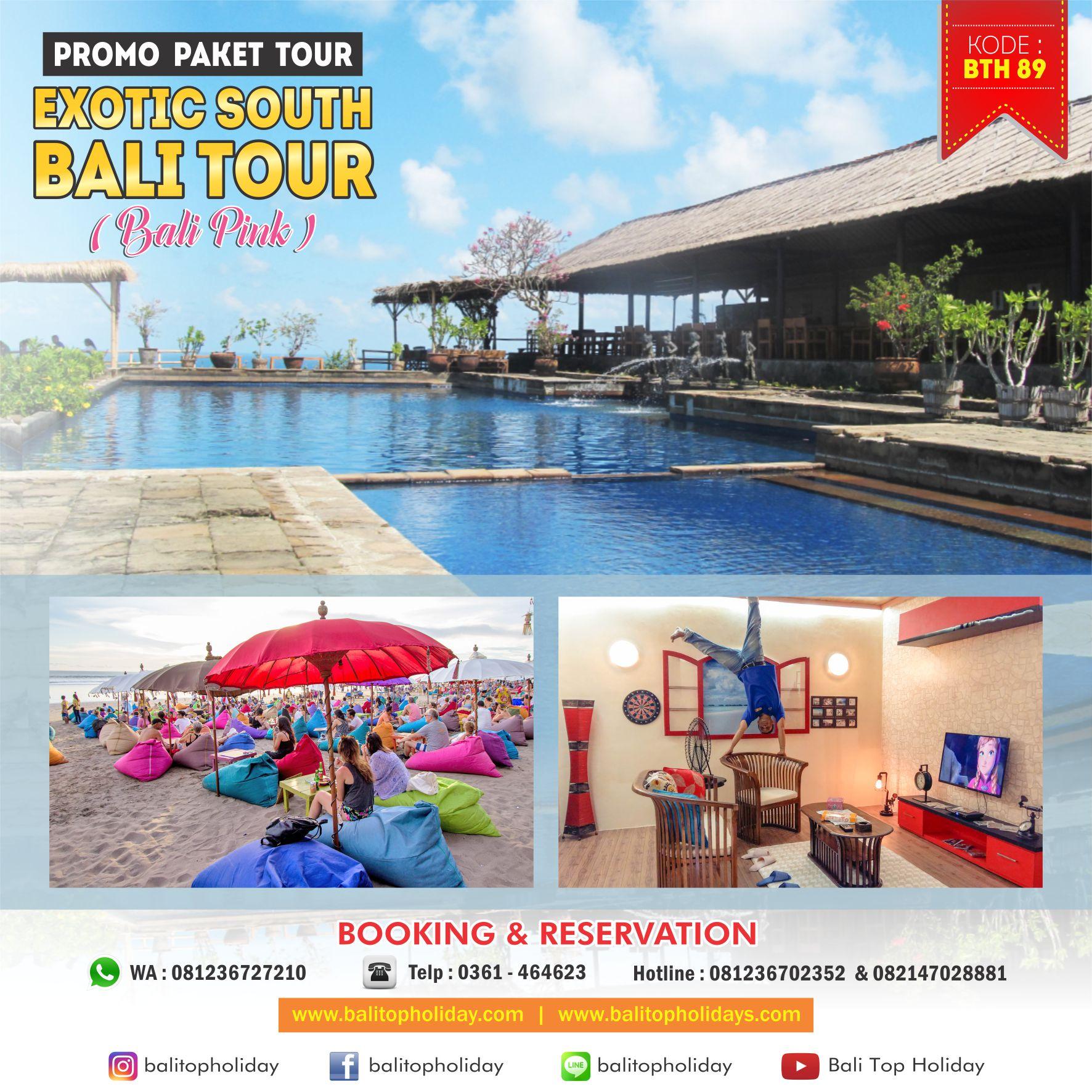 Paket Tour Bali 1 Hari Exotic South Bali