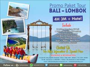 Paket Tour Bali Lombok 4D/3N Murah