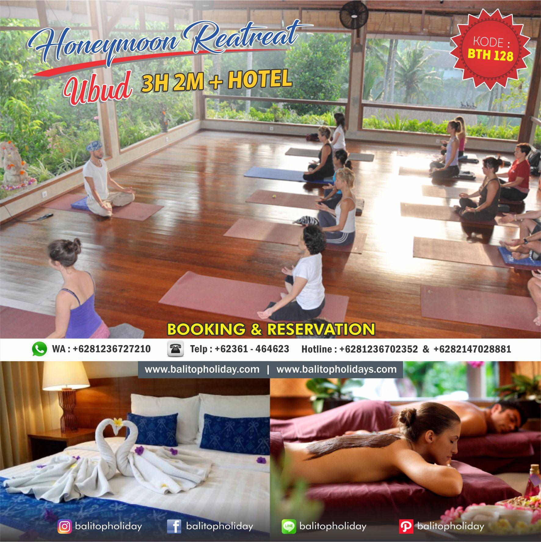 Paket Honeymoon Bali Ubud Retreat