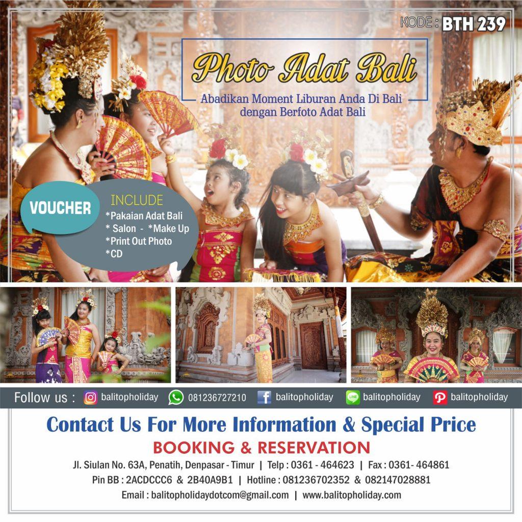 Photo Adat Bali Kulkul Sukawati