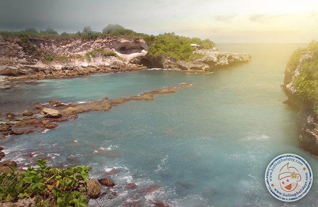 blue lagoon cliff