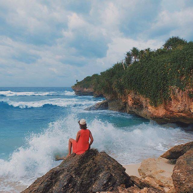 dream beach lembongan bali