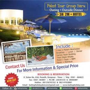 Paket Tour Group 3D/2N (Bali Outing)