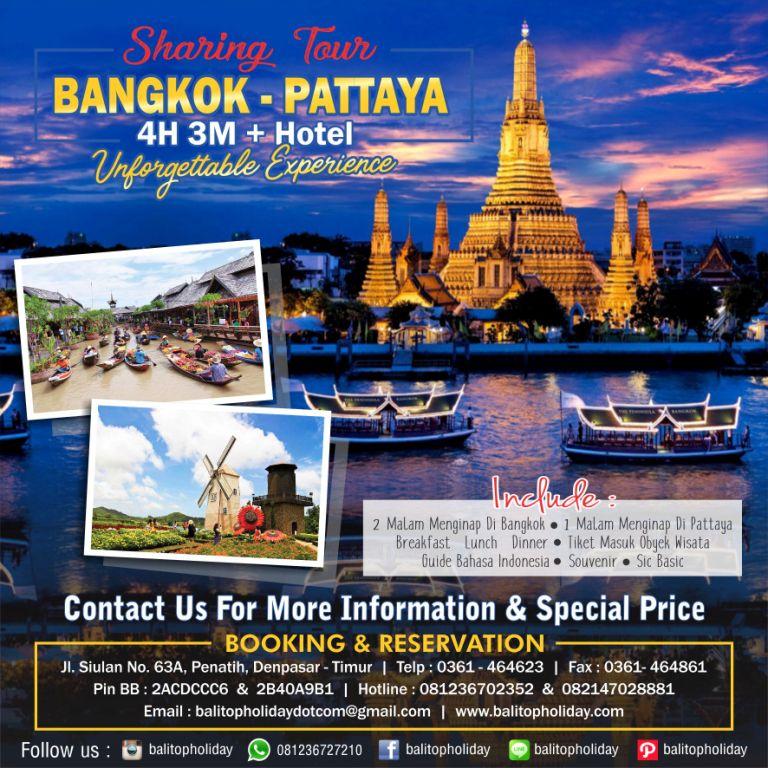 Bangkok Pataya 4H 3M