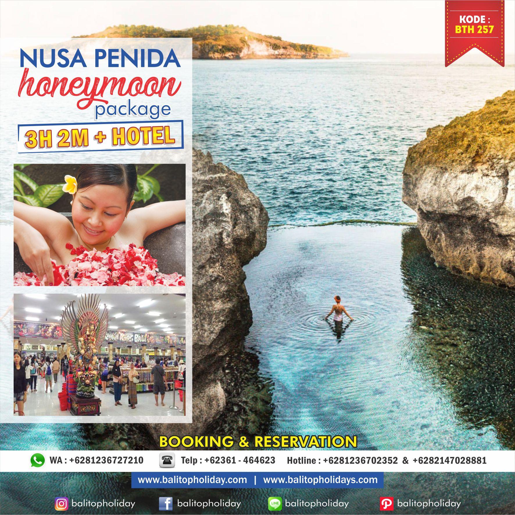 Paket Honeymoon Bali Nusa Penida 3H2M