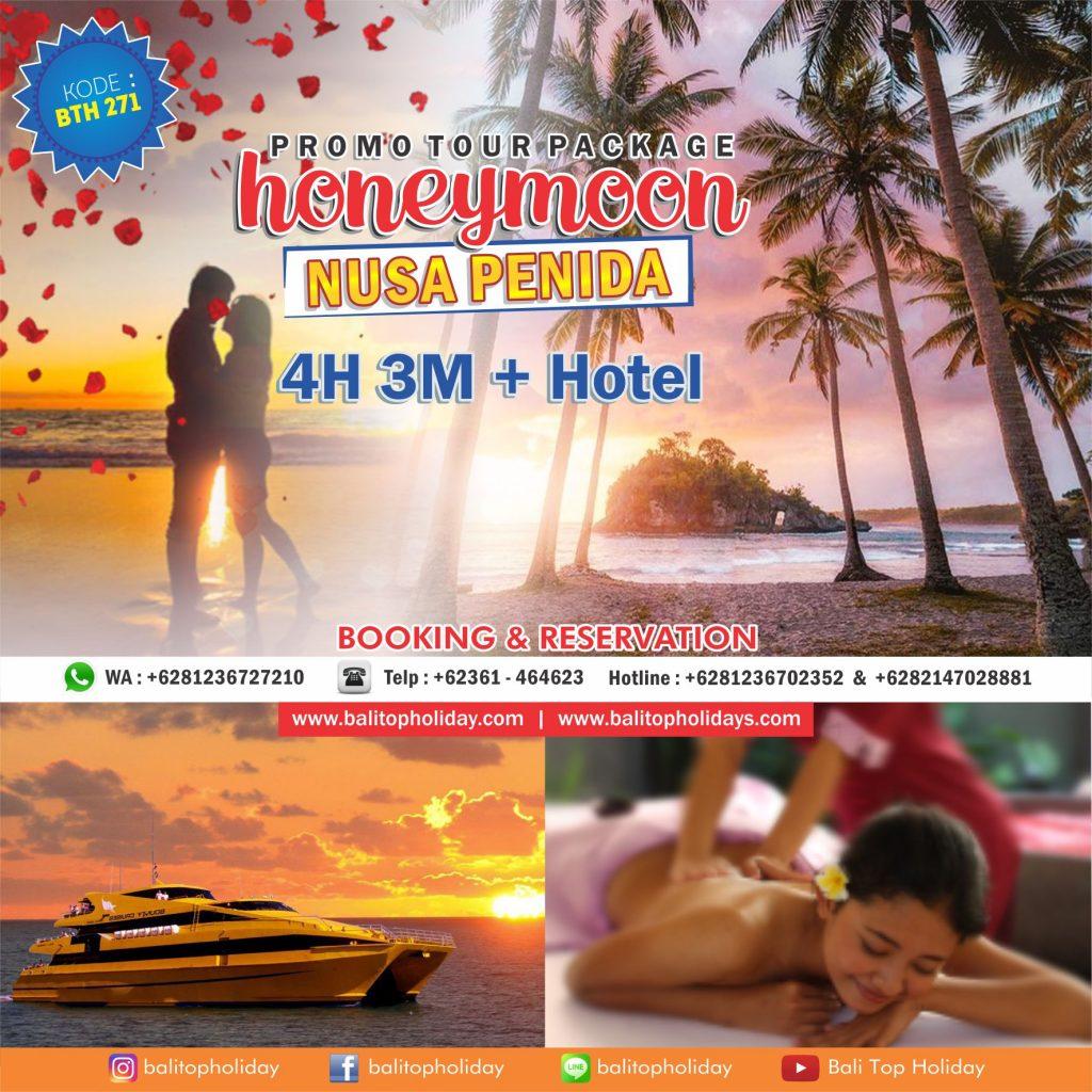 Paket Honeymoon Nusa Penida Bali