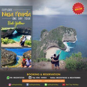 Paket Tour Nusa Penida 1 Hari