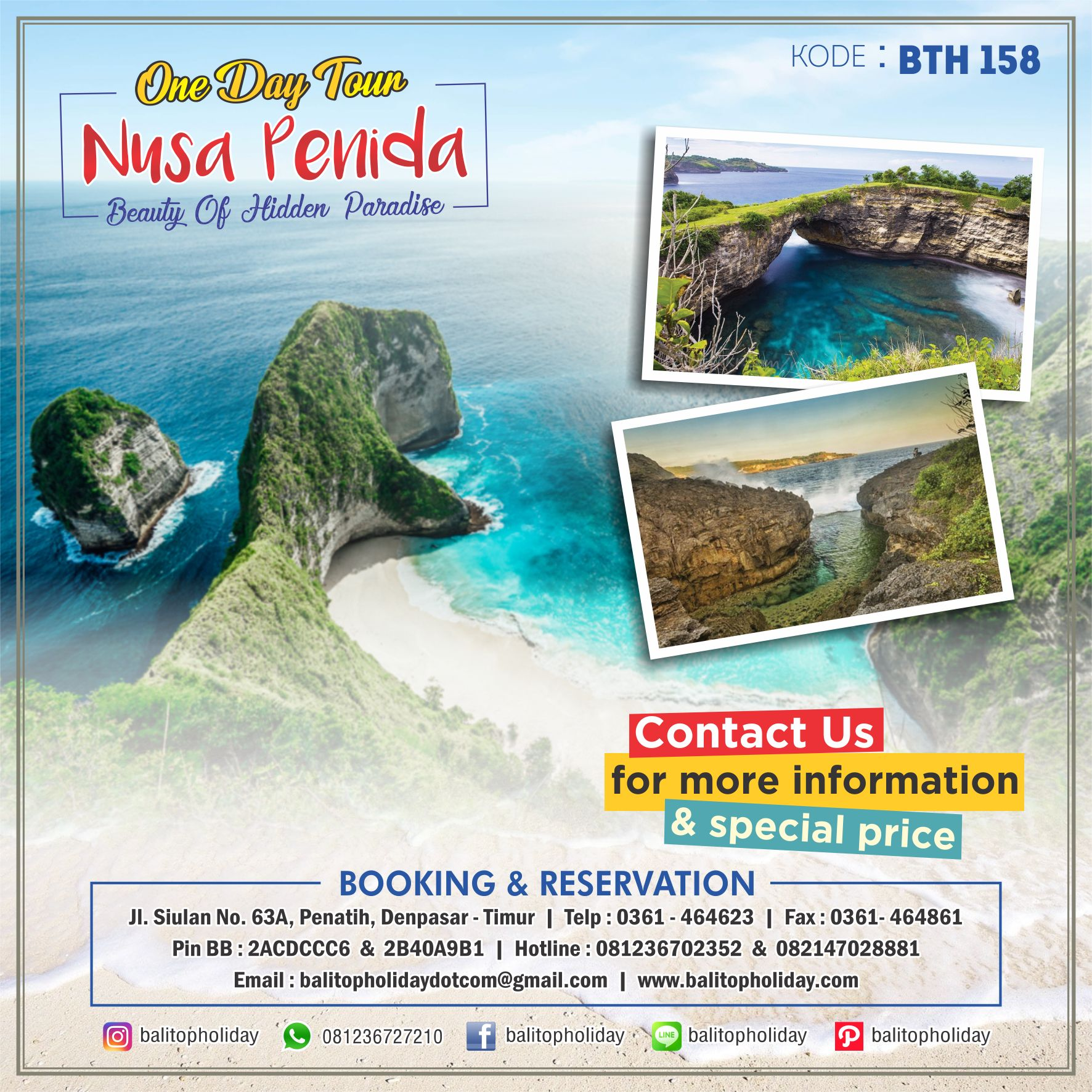 nusa penida one day tour BTH 158