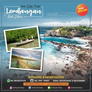 Tour 1 Hari Nusa Lembongan