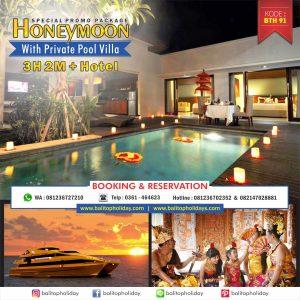 Paket Honeymoon Bali Dengan Private Pool Villa