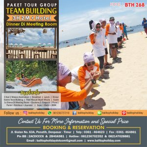 Paket 3D/2N Team Building & Dinner di Meeting Room