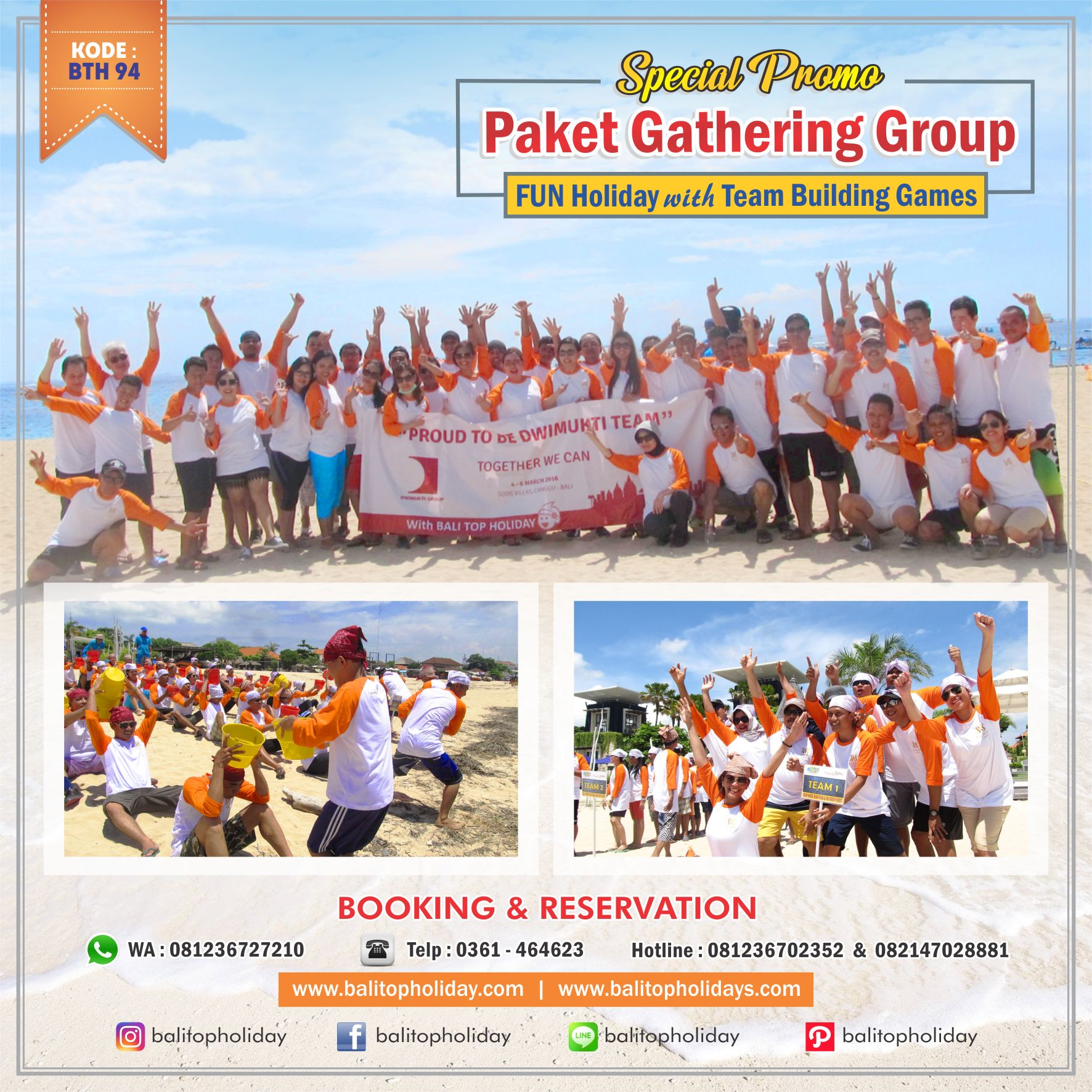 Paket Tour Bali Group / Rombongan (Spesial)