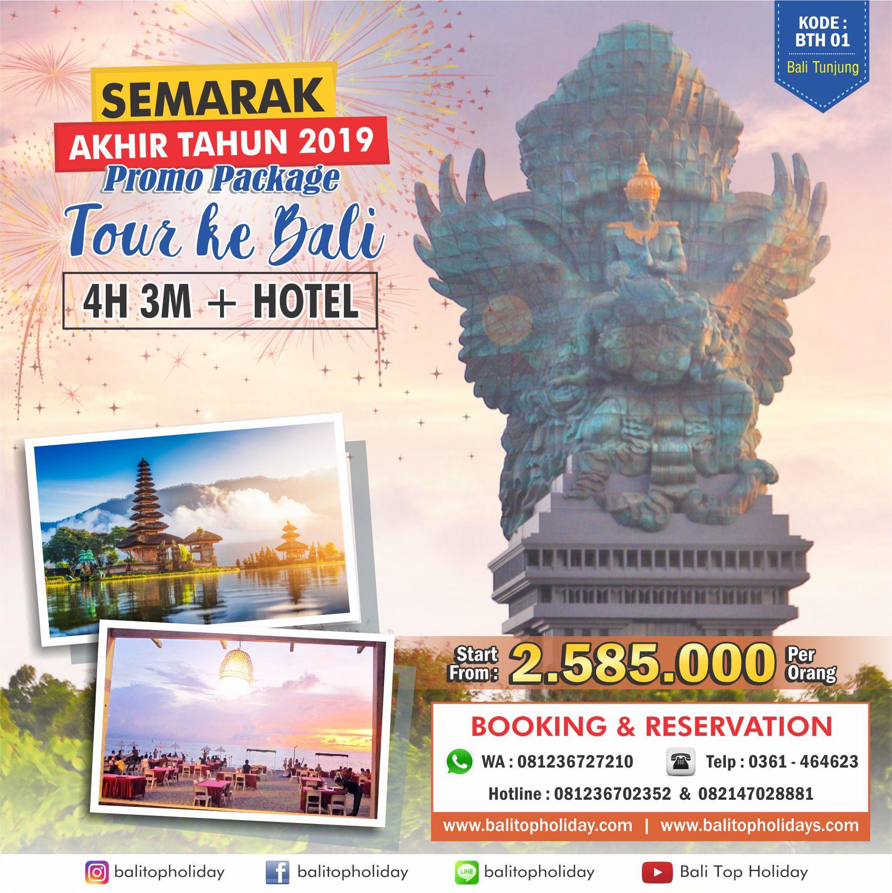 Promo Wisata Bali 2020