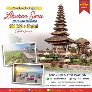 Paket Tour Bali 3H 2M (Bali Keren)