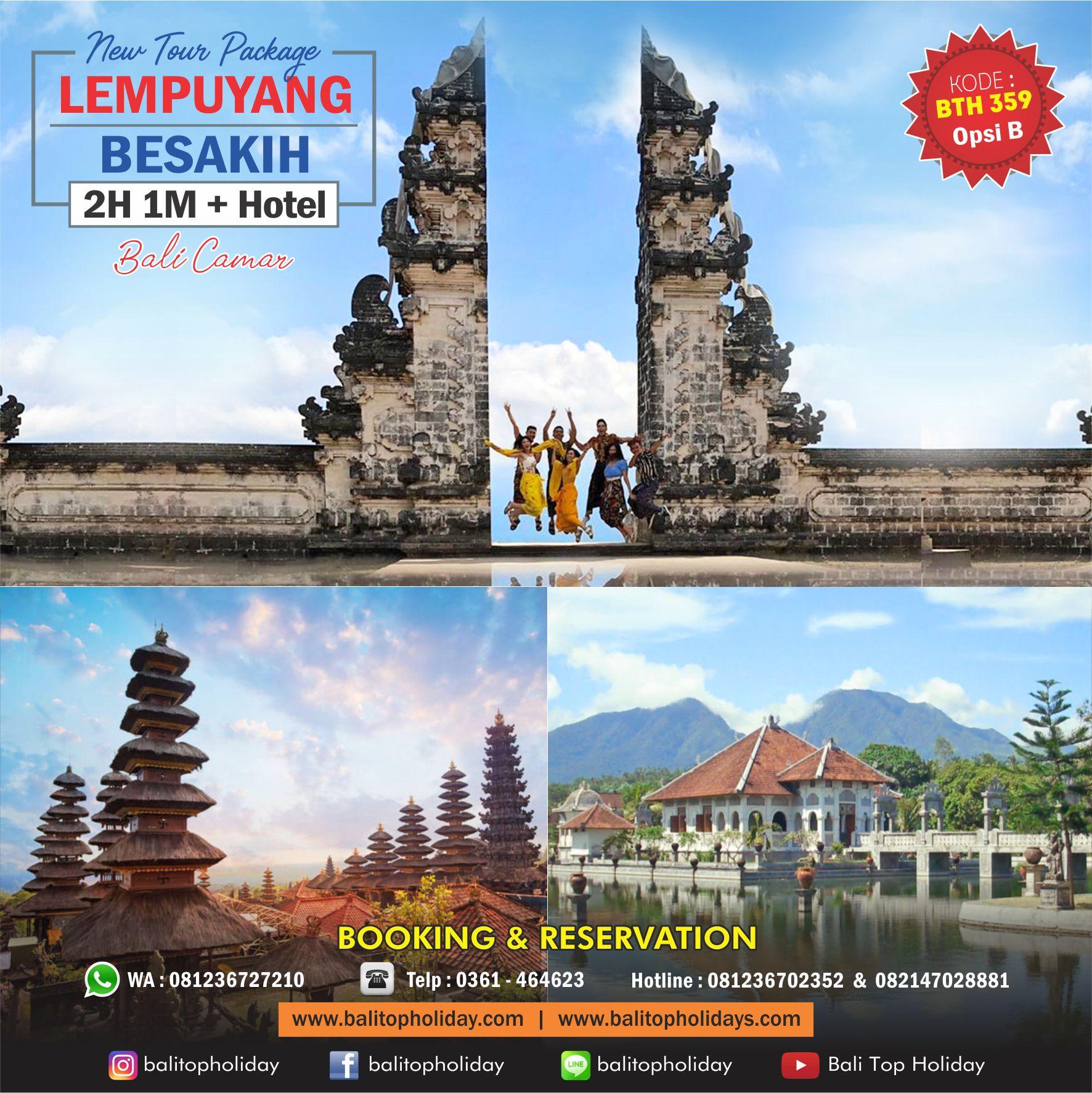 Paket tour Bali 2 hari Bali Timur