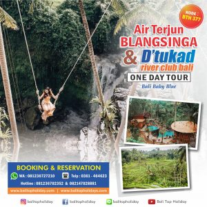 Tour Air Terjun Blangsinga &  Tukad River Club Bali