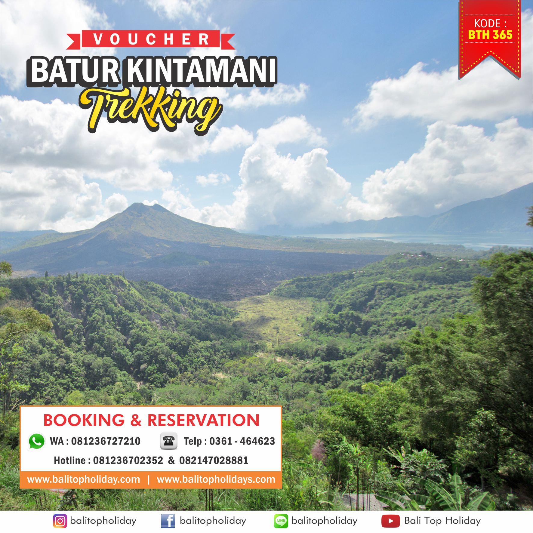 Batur Sunrise Trekking Tour 1