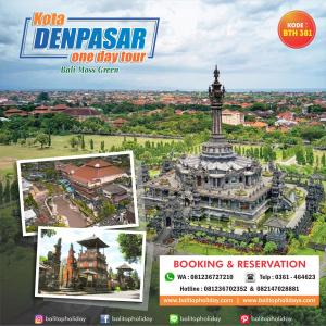 Tour Bali 1 Hari – Denpasar City Tour