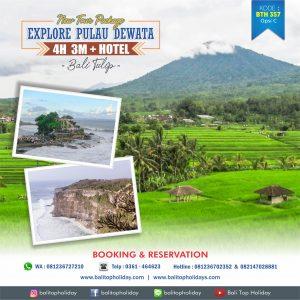 Paket Tour Bali 4D/3N (Bali Tulip)