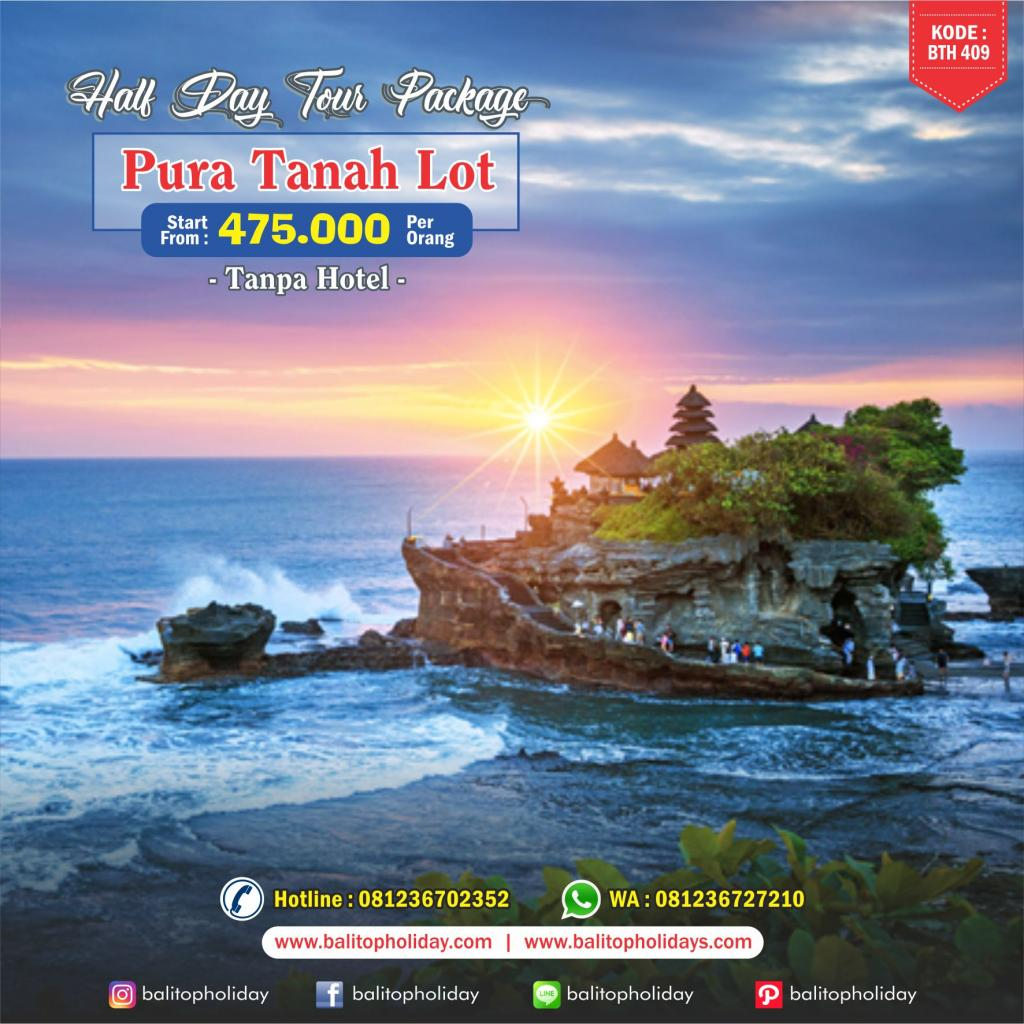 Paket Halfday Tour Tanah Lot BTH 409