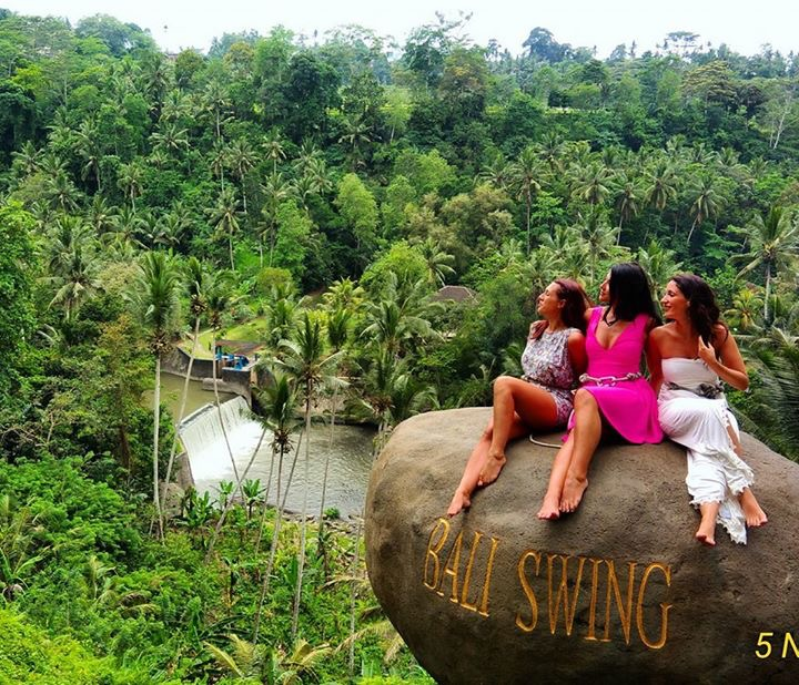 Wisata Seru dan Menantang  di Bali Swing Ubud 4