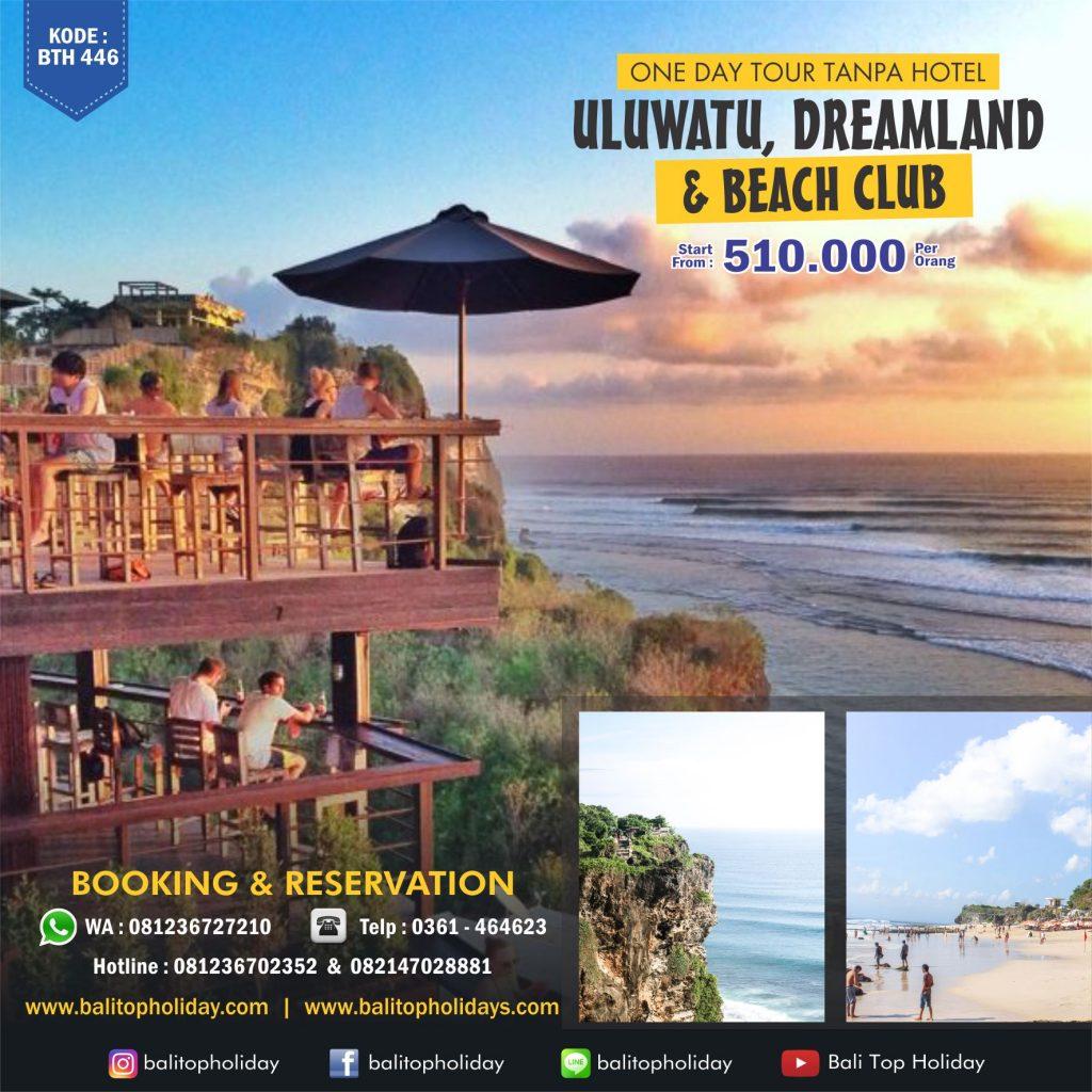 Paket tour Bali beach club